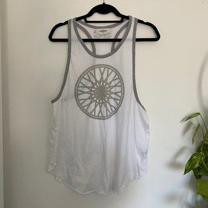 SOULCYCLE | White & Gray Tank Top | Medium